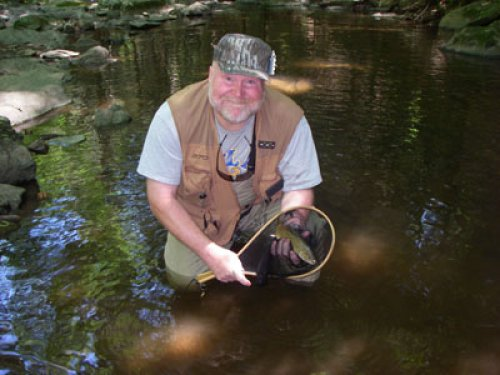 Steve Fletcher at Big Hunting Creek