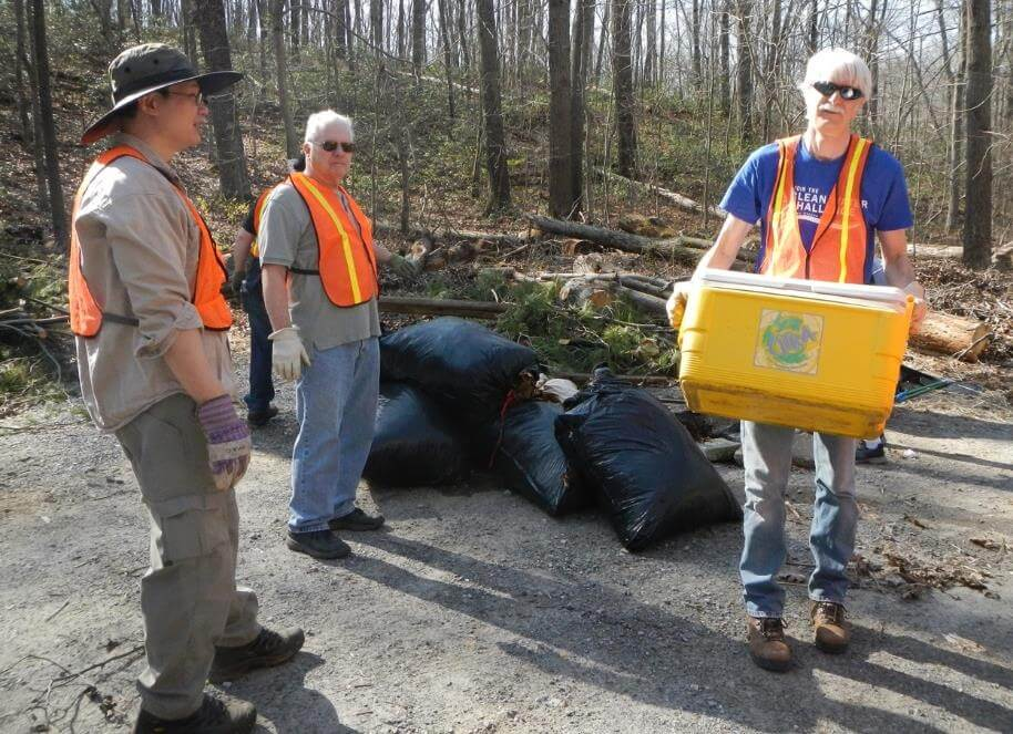 Spring & Fall Watershed Clean-up with Wildlife Achievement Chapter of IWLA